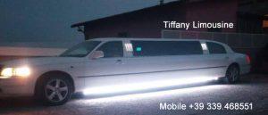 tiffany servizi esclusivi limousine Milano
